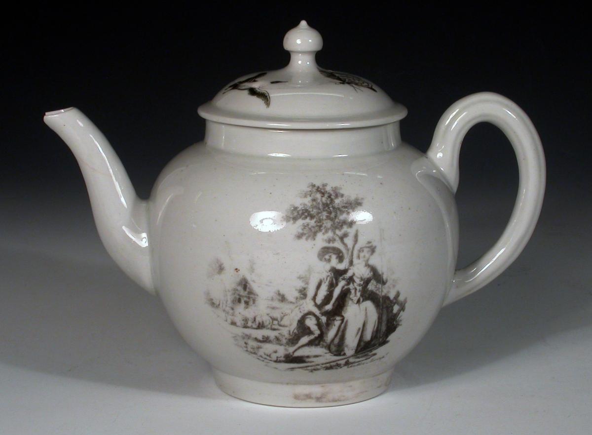 Printed British Pottery & Porcelain | Printing at Liverpool