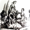 Printing on porcelain 1750-1800