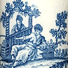 Printing on porcelain 1750-1800